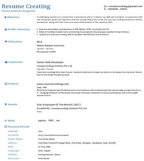resume creating resume builder view all templates